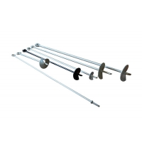 Buy cheap 5/8×54 C1045 Galvanized Steel Helical Earth Anchors from wholesalers