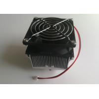 Buy cheap 100w  Aluminum Heat Sink Of  Reflector With Cooling Fan  For Larger Heat Dissipation Area from wholesalers