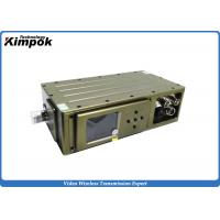 Buy cheap NLOS Broadcast COFDM Video Transmitter / Digital Wireless Video Sender product