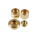 Buy cheap Brushed Finish Machining Milled Hard Anodizing 40um Brass CNC Turned Parts from wholesalers