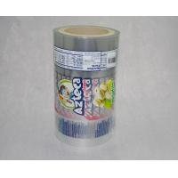 Buy cheap Clear Packaging Roll Film Metalized Foil Packaging Plastic Laminated Roll Film VFFS Film Roll For Snack / Coffee / Candy from wholesalers
