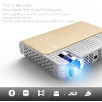 Buy cheap simplebeamer GP5W 3D led Projector 1800 lumens with Android 4.44 OS,wifi Smart projector Bluetooth exceed mini projector from wholesalers