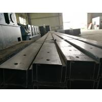 Buy cheap Hot Rolled Forming Galvanised Steel C Channel With Thick Protective Coating from wholesalers