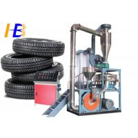Buy cheap Truck Tyre Rubber Recycling Machine  , 75kw Polymer Plastic Scrap Grinder from wholesalers