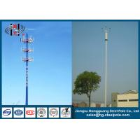Buy cheap Telescopic Microwave Antenna Mobile Cell Phone Tower with Powder Coating from wholesalers