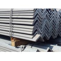 Buy cheap Zinc Coated Surface Structural Angle Iron, S355JR Grade Angle Bar Steel from wholesalers