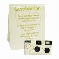 Buy cheap Wedding Camera, Preloaded with European Color Film and 35mm Single Use from wholesalers