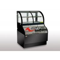 China ETL Approved Coffee Shop Open Display Cases R290 Or R404A Bottom Open Top Closed on sale