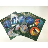 Buy cheap Morph Effct 3D 0.45MM PP Lenticular custom 3d stickers With Offset Printing For Kids from wholesalers