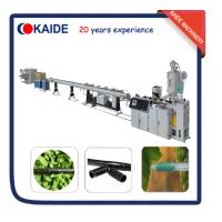 Buy cheap Plastic Pipe Production Machine for PE Drip Irrigation Pipe Production line KAIDE factory from wholesalers