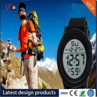 Buy cheap Silicone Wrist Watch Smartwatch Luminous Alarm Light Timing Month Calendar Display 24 Hours Instruction Multicolor Strap from wholesalers