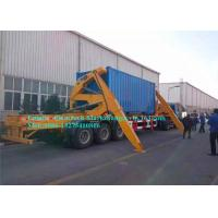 Buy cheap XCMG Cargo Container Lifting Equipment , Side Loader Truck With Hydraulic System product