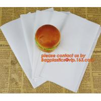 Buy cheap White Greaseproof Paper,28GSM Greaseproof Paper For Burger Wrapping,Lunch Warp and Greaseproof Paper 400 x 660 mm / 400 from wholesalers