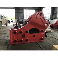 Buy cheap 10-16 Ton Sany Hydraulic Breakers For Excavators , High Efficiency Skid Steer Hydraulic Hammer from wholesalers