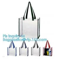 Buy cheap handle bag&luxury shopping paper bag, pvc simple convenient hoop handle clear zipper cosmetic bag, shoes bag rope handle from wholesalers