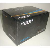 Buy cheap Large Black 6 * 5 * 5 Inch Corrugated Gift Boxes, Gps Packaging Box from wholesalers