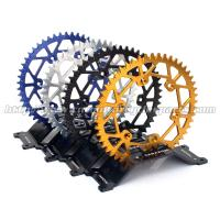 Buy cheap Aluminium Alloy Dirt Bike Sprockets , Motorcycle Chain Sprockets For Motorcycle Spare Parts from wholesalers