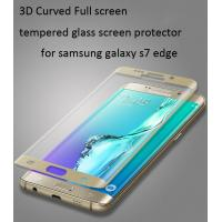 Buy cheap Samsung Galaxy S6 Edge  tempered glass screen protector Edge to Edge 3D full coverage 0.33mm ultrathin Scratch-Resistant from wholesalers