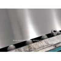 Buy cheap Anti - Fingerprint Hairline Finish 304 Stainless Steel Sheet Surface NO.4 / HR from wholesalers