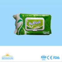 Buy cheap wet wipes raw material 40%viscose+60%polyester spunlace from wholesalers