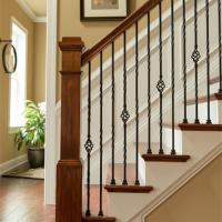 Buy cheap Wrought Iron Stair Railing or Handrails for home and garden indoor or outdoor usage from wholesalers