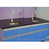 Buy cheap Chemical Resistant Laboratory Work Benches Sink Tables With Exhaust Hood from wholesalers