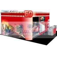 Buy cheap 4D movie theater with movie poster , advertisement cinema cabin product