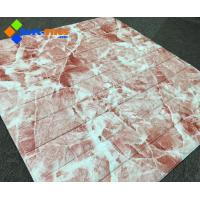 Buy cheap 3D Wall panel PE FoamDecor Stone Marble colour from wholesalers