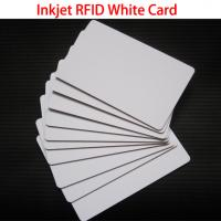 Buy cheap RFID TK4100 Chip Cards Printable PVC ID Inkjet Card For Access Control Security from wholesalers