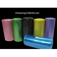 Buy cheap WHITE HDPE PEDAL BIN LINER BAGS ON ROLL 500*600mm 10mic 30L garbage bag from wholesalers