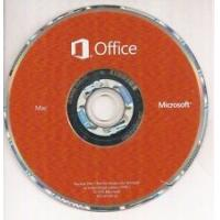 1PC MAC Office 2016 DVD Sticker Microsoft Office 2016 Home And Business