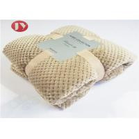Buy cheap Home Bedroom Polyester Fleece Blanket Microplush Diamond Flannel Fleece Coral Throw Blanket from wholesalers
