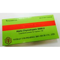Buy cheap Promote Blood Clots Alpha Chymotrypsin Injection 5000 I.U , Lyophilization Vials Injectable Drugs from wholesalers