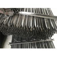 Buy cheap Star Picket Y post 2.04kg per meter black coated or hot dipped galvanized from wholesalers