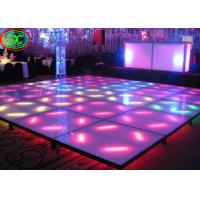 Buy cheap 32768 Pixels / Sqm Interactive Dance Floor SMD 2727 Led Lamp For Advertising / Car Show from wholesalers