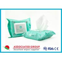 Buy cheap Organic Formula Feminine Hygiene Wipes Eye Makeup Cleansing With Aloe Vera product