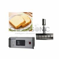 Buy cheap Easy Operate Ultrasonic Pies Cake Cutting Machine With Titanium Blade Material from wholesalers