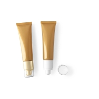 Buy cheap Hotel 125ml Biodegradable Plastic Cosmetic Tubes With Screw Cap product