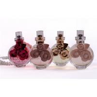 Buy cheap 30ml Mini Personalized Perfume Crystal Bottle With Pump Sprayer from wholesalers
