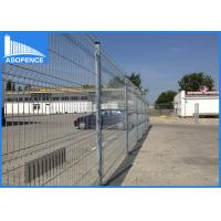 Buy cheap Ral7016 Wire Garden Fence Panels Rectangular With AKZO Nobel Powder from wholesalers