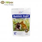 Buy cheap Custom Printed Pet Food Packaging Bag Stand Up Aluminum Foil Zip Lock Bag from wholesalers