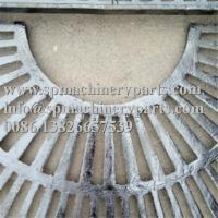Buy cheap Custom Landscape Architecture Design Parts 1000mm Square Cast Grey Iron Tree Grate In Two Halves from wholesalers