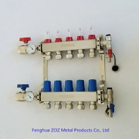 Buy cheap Underfloor Heating Manifolds Stainless Steel UFH Manifold from wholesalers