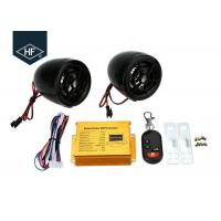 Buy cheap Car Audio ABS Electric Motorcycle Parts, Motorcycle Alarm System MP3 FM Radio Stereo Speaker Music from wholesalers