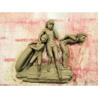 Buy cheap Realistic Bronze Figures Sculpture , Contemporary Bronze Sculpture Wall Ornaments from wholesalers