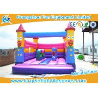 Buy cheap Full Printing Frozen Inflatable Moonwalk Bounce House Combo For Indoor Party from wholesalers