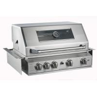 Buy cheap High End outdoor bbq kitchen built in 4 3KW 304 tube burners gas bbq grill bbq with rear burner, full stainless steel from wholesalers