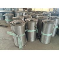 Buy cheap Rope Wire High Temperature Conveyor Belt , SS Belt Conveyors For Sea Food from wholesalers