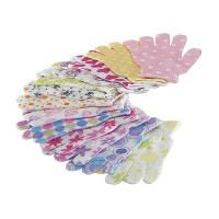 Buy cheap House Exfoliating Bath Mitt Body Wash Gloves Wave Pattern Printed from wholesalers
