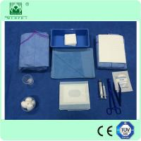 Single Use surgical ophthalmic Drape packs for ophthalmic surgery with free sample